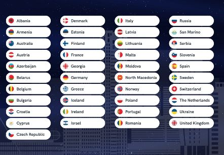 41 lande klar til Rotterdam